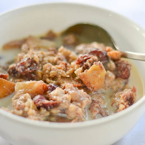 #3. Apple Cinnamon Steel Cut Oats