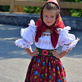 Traditional... by Doru Sava - Babies & Children Children Candids ( traditional, beauty, girl )