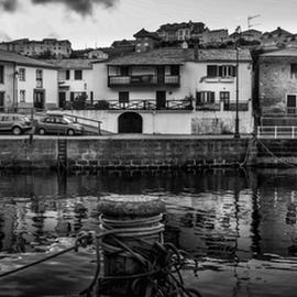 Viavelez port pano by Jorge Fernandez - City,  Street & Park  Neighborhoods ( jffuente, port, viavelez, dawn, barcos, pano, asturias, amanecer, boats, puerto )