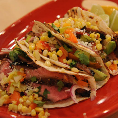 Mexican Sliced Steak Tacos