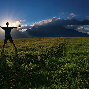 Mr. Slavkov by Matej Kováč - Landscapes Mountains & Hills ( garyfonglandscapes, holiday photo contest, photocontest, , silhouette )