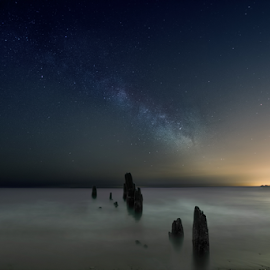 Relaxing Night by Sushmita Sadhukhan - Landscapes Starscapes (  )