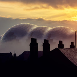 Sage Gateshead by Lee Stoneman - Uncategorized All Uncategorized ( sage, gateshead, cityscape, sunrise )