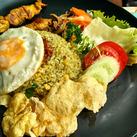 green pepper fried rice by Ign Hadi - Food & Drink Plated Food