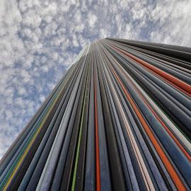 Rainbow by Dubravka Krickic - Buildings & Architecture Architectural Detail ( modern, paris, detail, building, france, architecture )