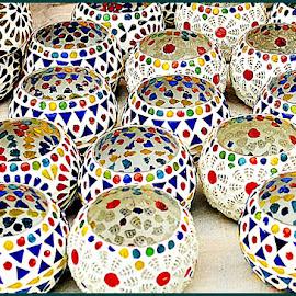 Patterns by Prasanta Das - Abstract Patterns ( circular, patterns, decorative, glass )