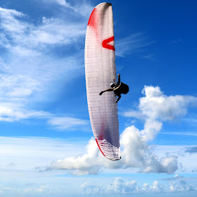In the sky by Gil Reis - Sports & Fitness Other Sports ( sky, adventure, places, nature, people, life )