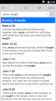 Screenshot of New American Standard Bible