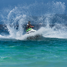 Water in Motion by Vijay Rawale - Sports & Fitness Watersports ( watersport, jetski, sea, havelock island, waterscapes )