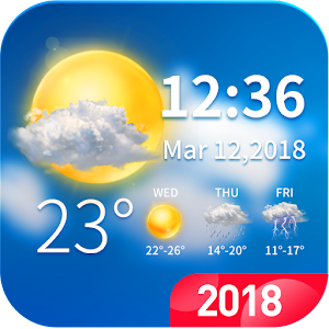 Live weather & clock widget 🌞 For PC / Windows 7/8/10 / Mac – Free Download