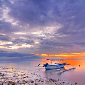 before the time by Dharma Jaya - Landscapes Weather