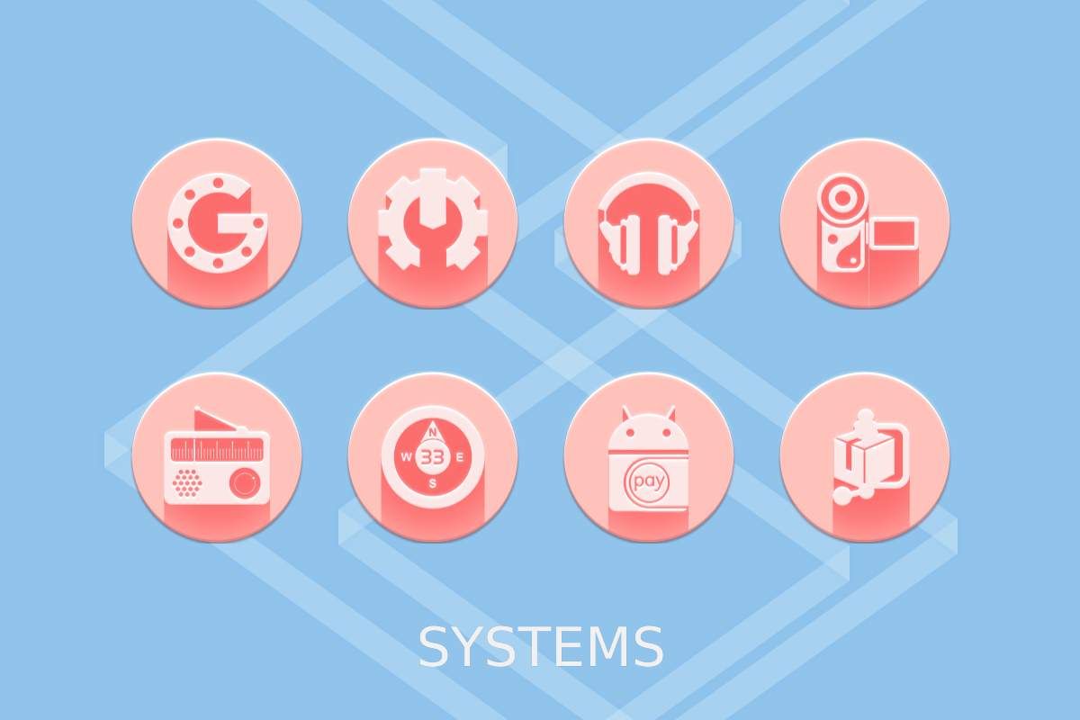 Pink Multilauncher Icon Pack Screenshot 17