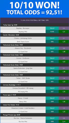 Betting Tips - screenshot