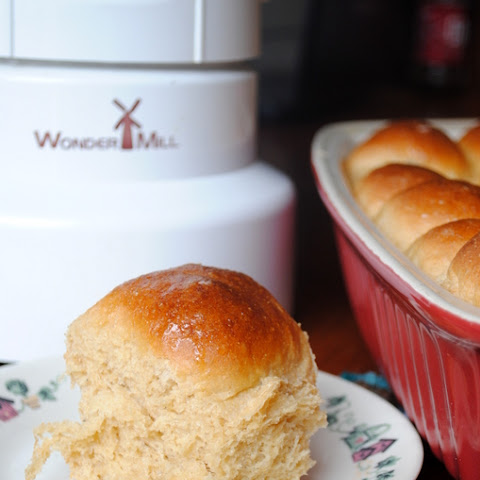100% Whole Wheat Dinner Rolls