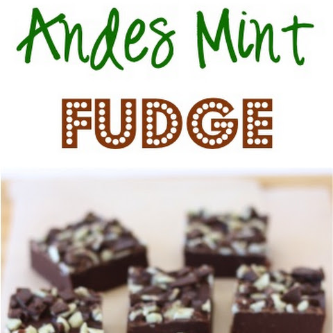 Easy Andes Mint Fudge Recipe!