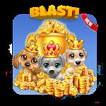 Pet dog blast : cute puzzle block saga Icon
