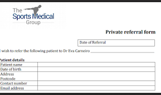 Private Referral form