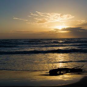Rodoni Sunset by Olsi Belishta - Novices Only Landscapes ( sunset, albania, kepi i rodonit )