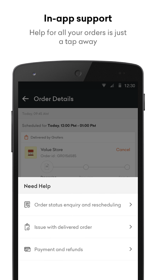 Grofers - Online Grocery Screenshot 6