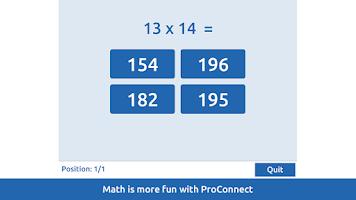 Screenshot of ProConnect