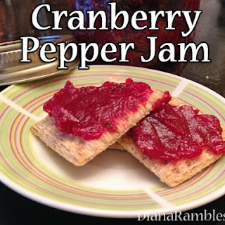 Cranberry Pepper Jam
