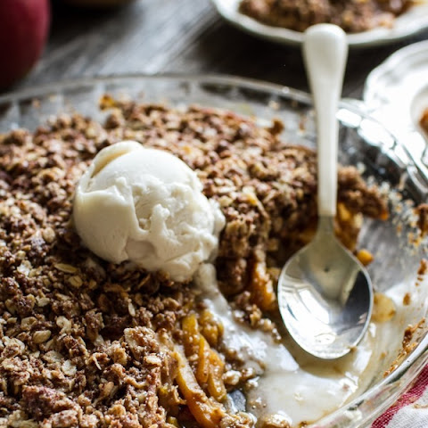 Butternut Squash, Apple + Pear Crisp