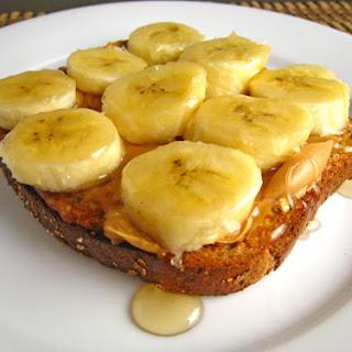 Peanut Butter Banana Honey Sandwich Recipes