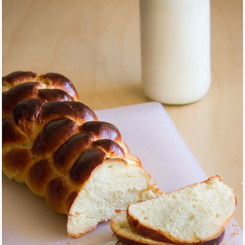 Challah ~ Six Strand Braided Bread