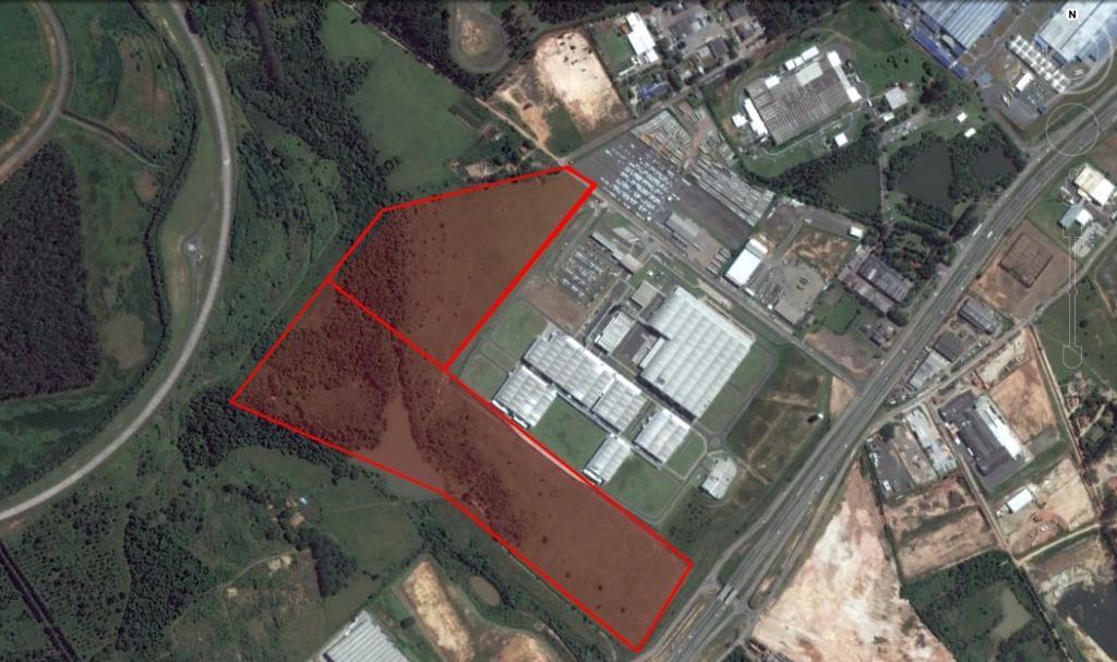Indaiatuba - Área Industrial Barroca Funda 385.521,55 m² na Rodovia Engenheiro Ermênio De Oliveira para Venda.