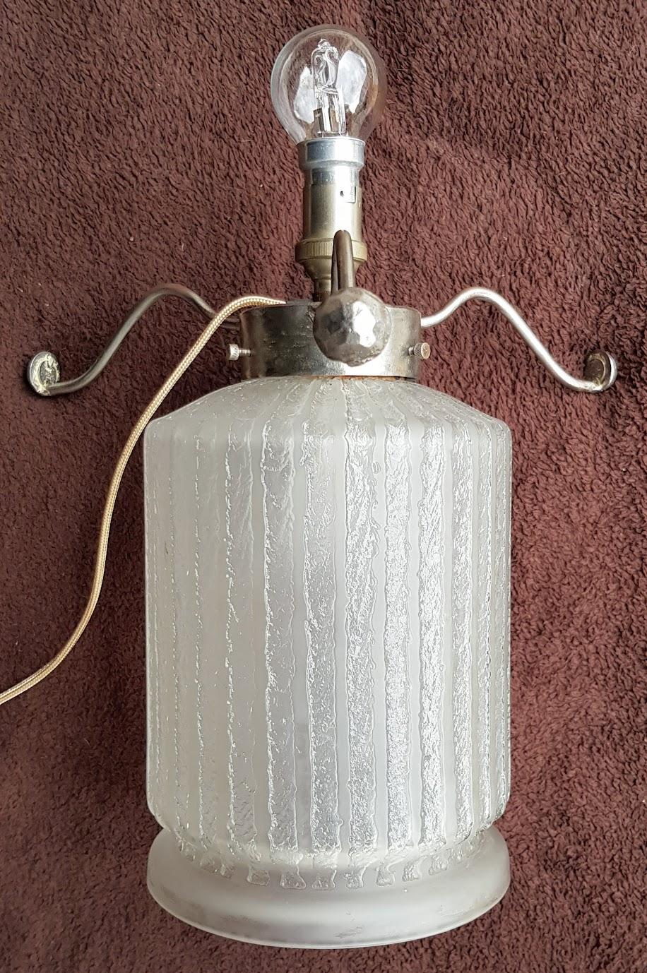 Daum Nancy Superbe Lampe Champignon Art Deco Da Cor Ga Oma