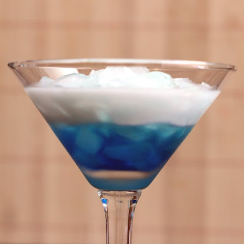Blue Russian drink