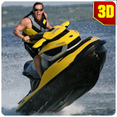 Download Android Game Jet Ski: Water Boat Racing Simulator 3D for Samsung