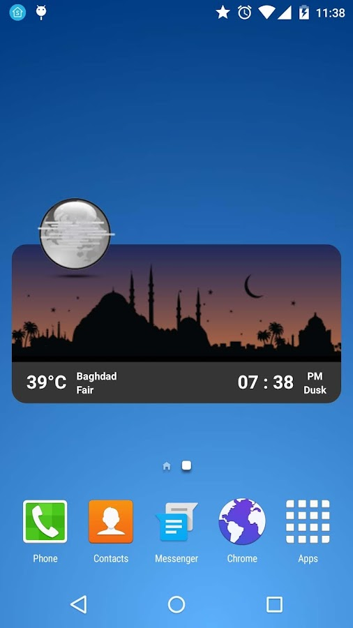 Metro Clock Widget Screenshot 3