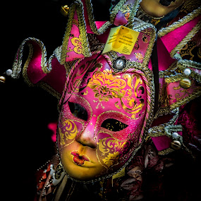 The Jester - Study 2 by Heather Allen - Artistic Objects Other Objects ( venice, italy,  )