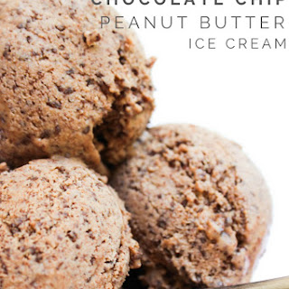 Semi-Homemade Chocolate Chip Peanut Butter Ice Cream