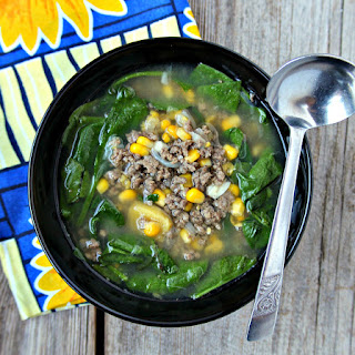 Ground Beef Spinach Corn Recipes