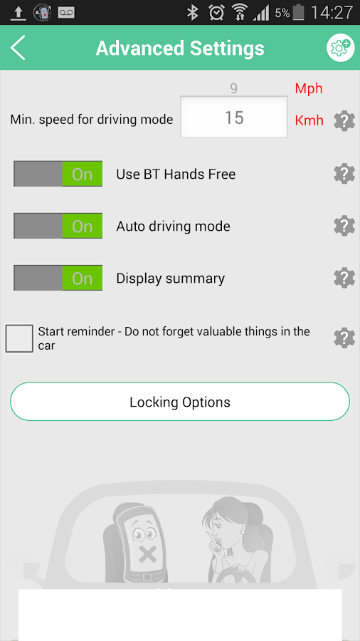cellMUTE+ Drive Mode & More! Screenshot 6