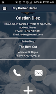 Barbers Net Client - screenshot