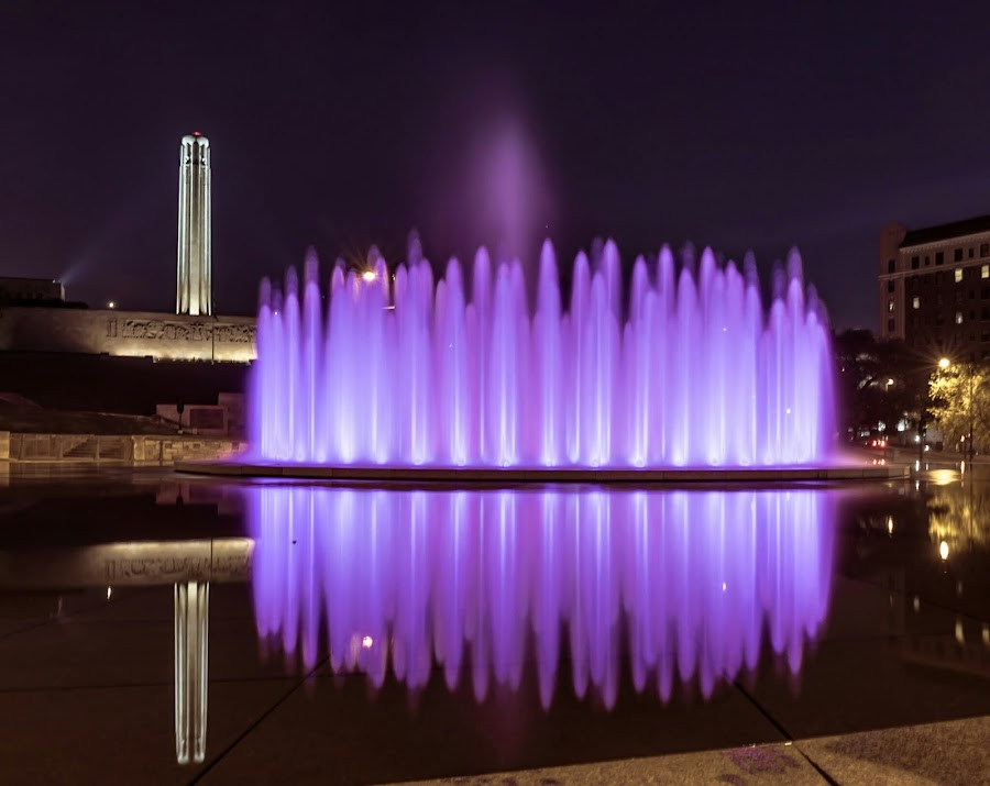 by Jackie Eatinger - City,  Street & Park  Fountains (  )