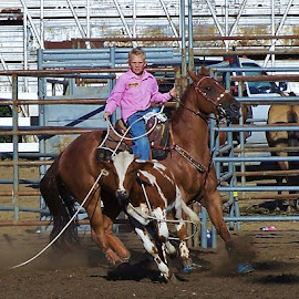 by Debbie Slocum Lockwood - Sports & Fitness Rodeo/Bull Riding
