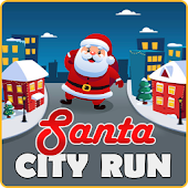 Download Santa City Run APK on PC