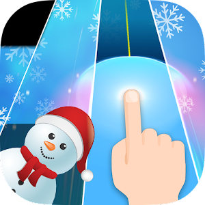 Music Piano: Christmas Tiles 2