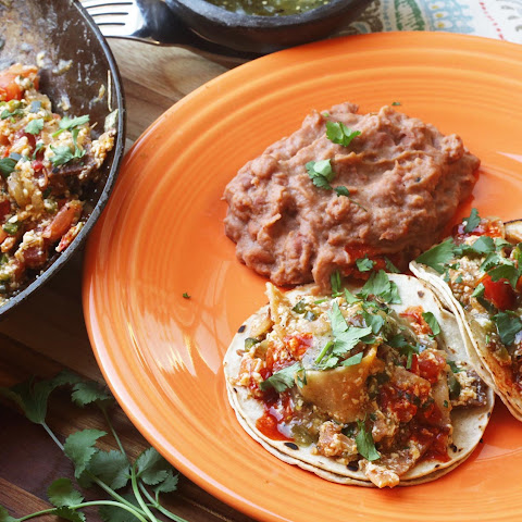 Vegan Migas (Mexican-Style Fried Tortillas With Tofu)