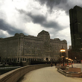 Ominous by David Plummer - Uncategorized All Uncategorized ( clouds, sky, chicago, storm, rain,  )