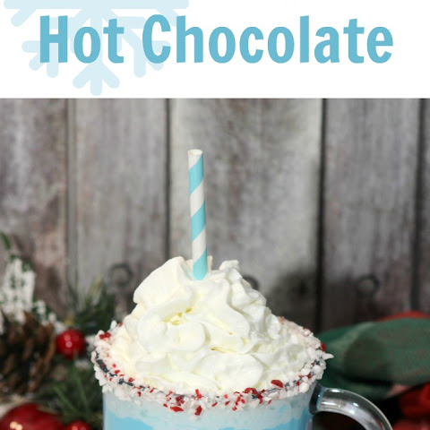 Frozen Inspired Hot Chocolate