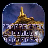 App Eiffel Tower Night Keyboard APK for Windows Phone
