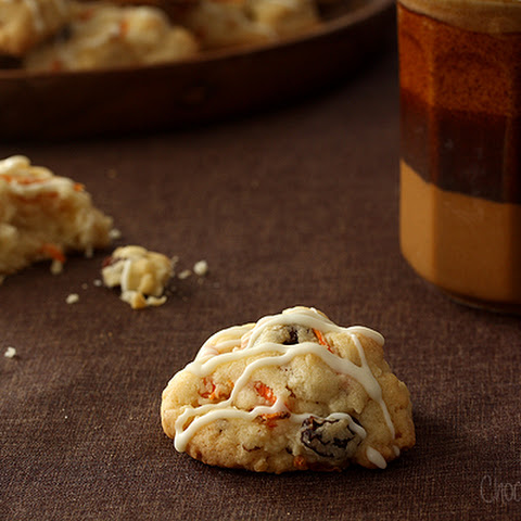 Carrot Cake Drop Cookies