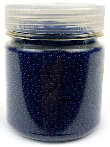Гидрогелевые шарики S, в банке, синие