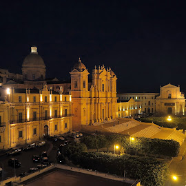 City of Noto, Sicily - Main Square by Almas Bavcic - Buildings & Architecture Other Exteriors