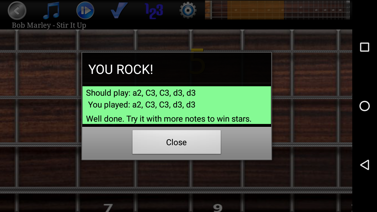 Bass Guitar Tutor Pro Screenshot 4